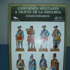 Coleccionismo Recortables: RECORTABLE TROQUELADO UNIFORMES MILITARES A TRAVES DE LA HISTORIA. Lote 10624916