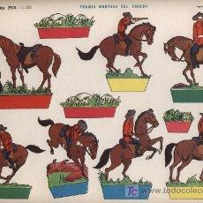 Coleccionismo Recortables: RECORTABLES EVA.POLICIA MONTADA DEL CANADA(22,5X30). Lote 16038861
