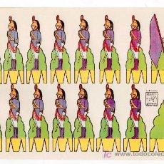 Coleccionismo Recortables: RECORTABLE DE SOLDADOS EDITORIAL ROMA. RECORTES AZUCENA Nº 2. Lote 14011172