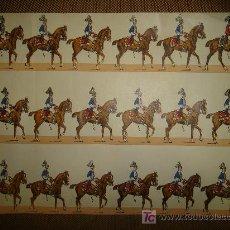 Coleccionismo Recortables: RECORTABLE DE LA CABALLERIA. Lote 14091417