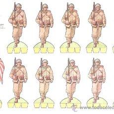 Coleccionismo Recortables: RECORTABLE BABY SOLDADOS Nº 10 JAPONESES. Lote 14268305