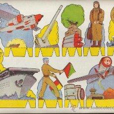 Coleccionismo Recortables: RECORTABLES PEPI EDITORIAL ROMA SERIE SOLDADOS Nº 3. Lote 15393424