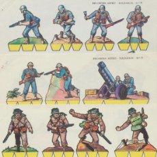 Coleccionismo Recortables: RECORTES ASTRO (16X22) LOTE DE 3.NÚMEROS 9,11 Y 13. EDITORIAL ROMA. 1963.. Lote 19791745