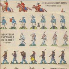 Coleccionismo Recortables: RECORTABLES BRUGUERA (17,5X24,5) LOTE DE 5. AÑO 1961.. Lote 19803350