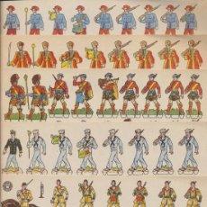 Coleccionismo Recortables: RECORTABLES BRUGUERA (17,5X24,5) LOTE DE 6. AÑO 1960.. Lote 19803400