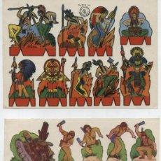 Coleccionismo Recortables: RECORTES ROSITA (12X17,5) LOTE DE 2: OESTE Nº 2 Y SOLDADOS Nº 2. EDIT. ROMA.. Lote 19838793