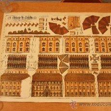 Coleccionismo Recortables: RECORTABLE ALCAZAR DE TOLEDO 1.940 CONSTRUCCIONES ANEL. Lote 111975706