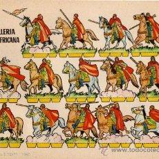 Coleccionismo Recortables: BRUGUERA , CABALLERÍA NORTEAFRICANA , AÑO 1960. Lote 23182359