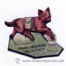 Coleccionismo Recortables: SOLDADO DE CARTÓN TROQUELADO DEL EJÉRCITO POPULAR, EDITADO POR ALM. ALEMANES. PERRO SANITARIO. Lote 26401095