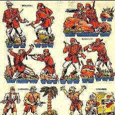 Coleccionismo Recortables: RECORTABLE SOLDADOS JAPONESES REGULARES . Lote 24309888