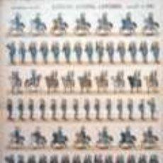 Coleccionismo Recortables: PALUZIE EJERCITO ESPAÑOL. LANCEROS. . Lote 34340816