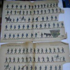 Coleccionismo Recortables: RECORTABLE HERNANDO EJERCITO ESPAÑOL:INFANTERIA DE LINEA Nº26 E INFANTERIA CAZADORES Nº 34. Lote 27622750