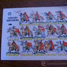Coleccionismo Recortables: RECORTABLE BRUGUERA: CABALLERÍA NORTEAFRICANA. Lote 28141850