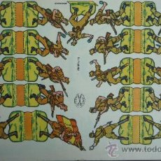 Coleccionismo Recortables: EDICIONES LA TIJERA 1958.- LA LEGIÓN.- SERIE 10 Nº 21.- TAMAÑO 32,3 X 22,7 CM.. Lote 28680336