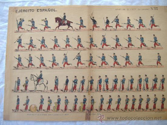 RECORTABLE EDITORIAL HERNANDO (Coleccionismo - Recortables - Soldados)