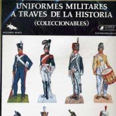 Coleccionismo Recortables: UNIFORMES MILITARES A TRAVÉS DE LA HISTORIA (CLÍPER EDICIONES) SERIE A-6. Lote 30958734