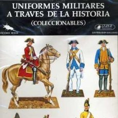 Coleccionismo Recortables: UNIFORMES MILITARES A TRAVÉS DE LA HISTORIA (CLÍPER EDICIONES) SERIE A-7. Lote 30958807
