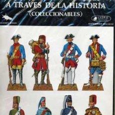 Coleccionismo Recortables: UNIFORMES MILITARES A TRAVÉS DE LA HISTORIA (CLÍPER EDICIONES) SERIE A-1. Lote 30976003