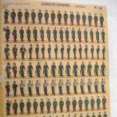 Coleccionismo Recortables: PALUZIE.EJERCITO ESPAÑOL-MARINERIA. Lote 31556049