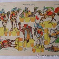 Coleccionismo Recortables: LA TIJERA SERIE IMPERIO Nº3.PATRULLAS DEL SAHARA. Lote 31642998