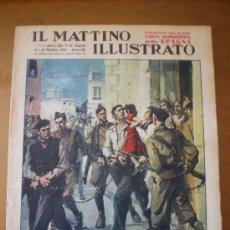 Coleccionismo Recortables: IL MATTINO ILLUSTRATO Nº 41 (11/10/37) GUERRA CIVIL MADRID TERROR. Lote 93665882