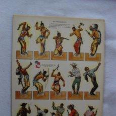 Coleccionismo Recortables: RECORTABLE ZAS..ED EUROAMERICA SERIE A Nº1. Lote 33261082
