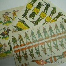 Coleccionismo Recortables: LOTE TRES RECORTABLES DE LA TIJERA AÑOS 50. Lote 34285578