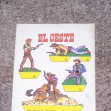 Coleccionismo Recortables: EL OESTE, RECORTABLES DE HOY. Lote 34770263