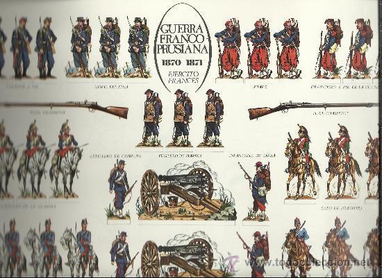 Coleccionismo Recortables: RARA COLECCION DE ANTIGUOS RECORTABLES DE SOLDADOS GUERRAS FRANCO PRUSIANA Y DE LA REVOLUCION VER - Foto 4 - 35505152
