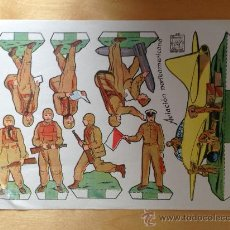 Coleccionismo Recortables: AVIACION NORTEAMERICANA. RECORTABLES AZUZENA Nº 37. Lote 36394834