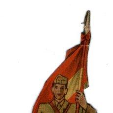 Coleccionismo Recortables: EJERCITO NACIONAL - CAPITÁN ABANDERADO 1939. Lote 36441117