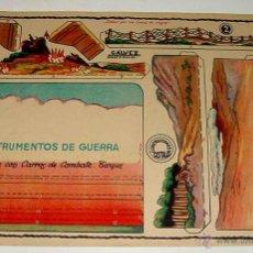 Coleccionismo Recortables: RECORTABLE RECORTABLE DE SOLDADOS: INSTRUMENTOS DE GUERRA. GUERRA CIVIL (CONSTR.COSTALES, ED.GALVEZ,. Lote 38265560