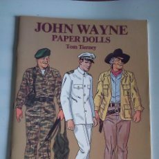 Coleccionismo Recortables: JOHN WAYNE--RECORTABLE,EDITORIAL DOVER. Lote 43519526