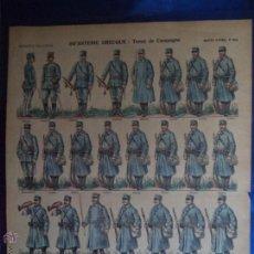 Coleccionismo Recortables: IMAGERIE PELLERIN Nº 905 INFANTERIE GRECQUE:TENUE DE CAMPAGNE. Lote 44024160