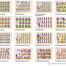 Coleccionismo Recortables: RECORTABLES MILITARES SERIE TANQUE BRUGUERA 1960. 15 LÁMINAS DIMENSIONES 17X12 CM OFRT. Lote 49098662