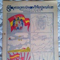 Coleccionismo Recortables: PEQUEÑO DIBUJANTE GUERRA CIVIL MODELO 1 ED LYA . Lote 62397286