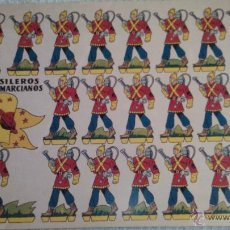 Coleccionismo Recortables: RECORTABLE FUSILEROS ANTIMARCIANOS . CARTULINA 49X35 CMS-IDEAL PARA POSTERS. Lote 52742733