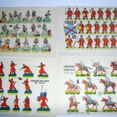 Coleccionismo Recortables: LOTE DE 8 RECORTABLES BRUGUERA 1960-1961. Lote 52802585