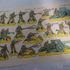 Coleccionismo Recortables: RECORTABLE EDICIONES LA TIJERA EQUIPO DE ASALTO Nº46 ROJO56. Lote 52817460