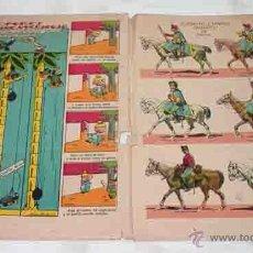 Coleccionismo Recortables: MACACO. AÑOS 20. RECORTABLE EJERCITO ESPAÑOL HUSARES DE PAVIA. Lote 53348702