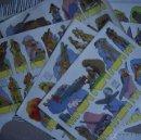 Coleccionismo Recortables: 15 LAMINAS RECORTABLES SOLDADOS AZUCENA (SERIE SOLDADOS 1 A 15). Lote 54034986