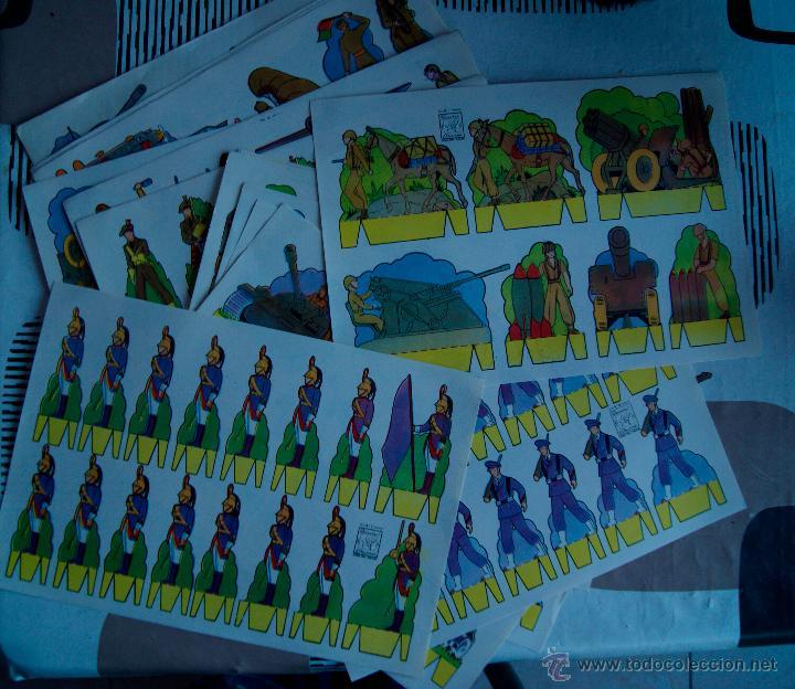 Coleccionismo Recortables: 15 LAMINAS RECORTABLES SOLDADOS AZUCENA (SERIE SOLDADOS 1 A 15) - Foto 2 - 54034986