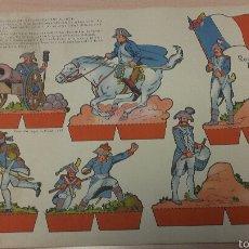 Coleccionismo Recortables: RECORTABLE SOLDADOS FRANCESES DE LA EPOCA IMPERIAL(1804), EDICIONES TORAY. Lote 54765416