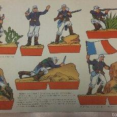 Coleccionismo Recortables: RECORTABLE TROPAS COLONIALES FRANCESAS (LEGION EXTRANJERA), EDICIONES TORAY. Lote 54765244