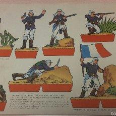Coleccionismo Recortables: RECORTABLE TROPAS COLONIALES FRANCESAS (LEGION EXTRANJERA), EDICIONES TORAY. Lote 54765268