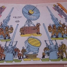 Coleccionismo Recortables: RECORTABLES KIKI SERIE DEFENSA ANTIAEREA B-5 Nº 2. Lote 54785797
