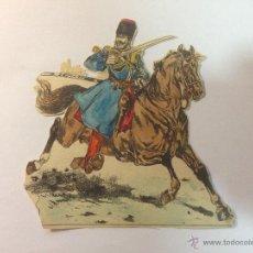 Coleccionismo Recortables: SOLDADO RUSO. 14CM. ANTIGUO.. Lote 54867431