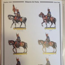 Coleccionismo Recortables: HUSARES DE PAVÍA. DELFIN SALAS.. Lote 54892947