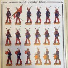 Coleccionismo Recortables: CUARTEL GENERAL DEL EJÉRCITO. DELFIN SALAS.. Lote 54893010