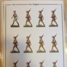 Coleccionismo Recortables: LA LEGION. ESPAÑA 1936. Nº 20. DELFÍN SALAS. Lote 54907681